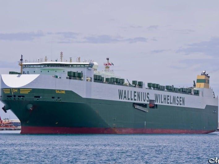 Salome RoRo Ship