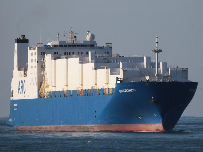 Endurance RoRo Ship