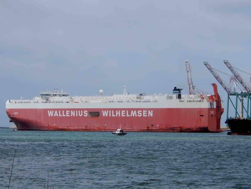 Tiger RoRo Ship