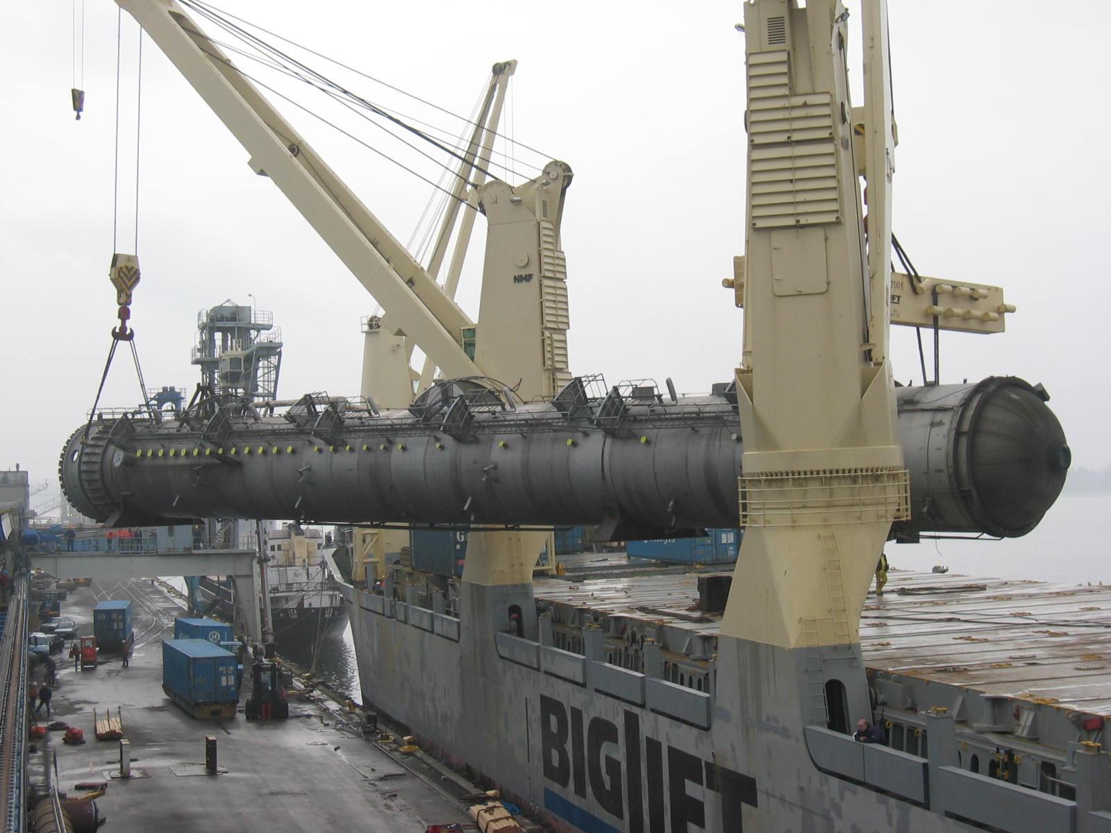 heavy lift ship