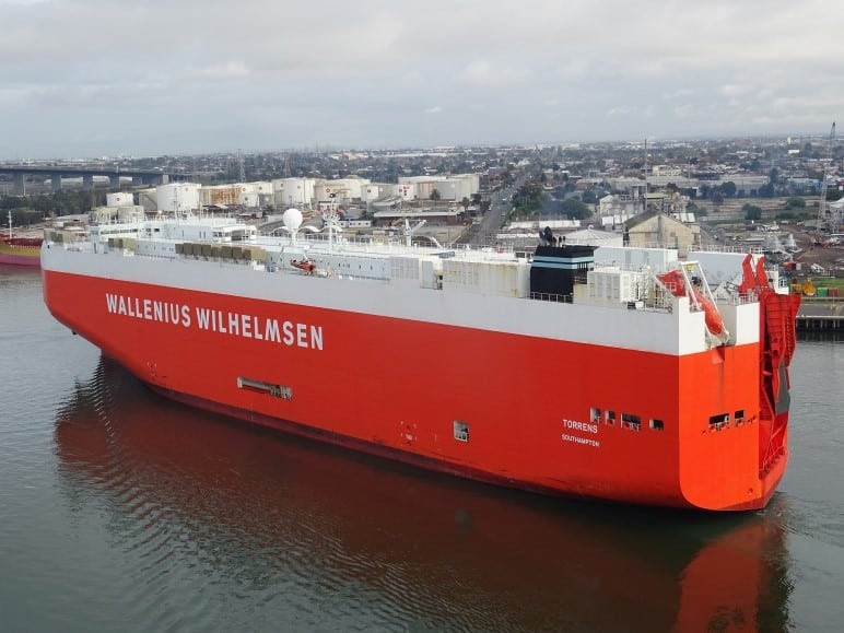 Torrens RoRo Ship