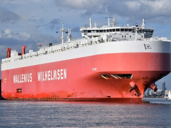 Tulane RoRo Ship