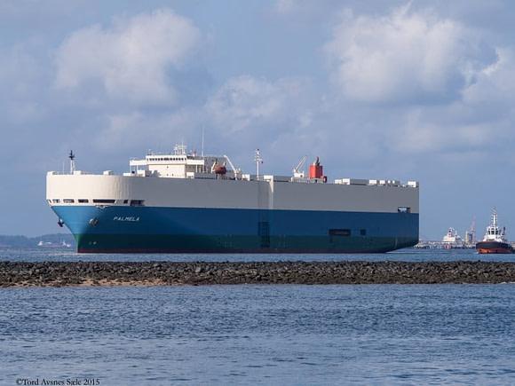 Palmela RoRo Ship
